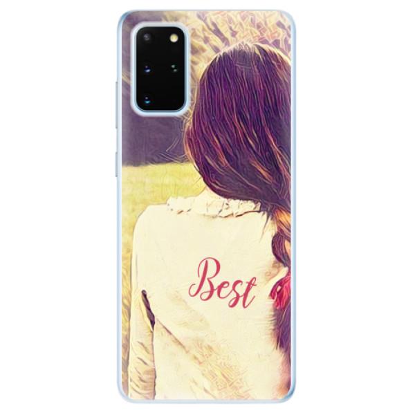 Odolné silikonové pouzdro iSaprio - BF Best - Samsung Galaxy S20+