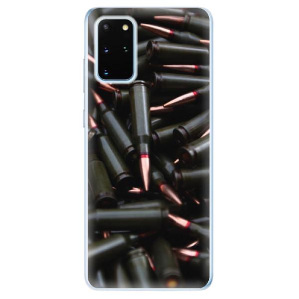 Odolné silikonové pouzdro iSaprio - Black Bullet - Samsung Galaxy S20+