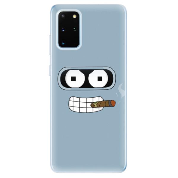 Odolné silikonové pouzdro iSaprio - Bender - Samsung Galaxy S20+