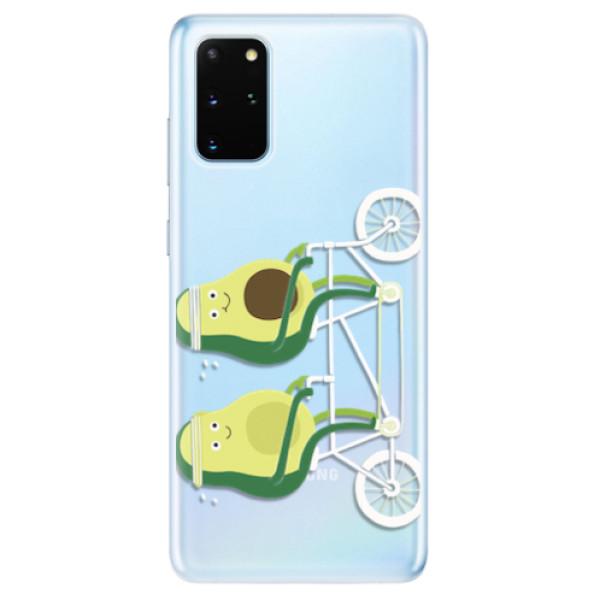 Odolné silikonové pouzdro iSaprio - Avocado - Samsung Galaxy S20+