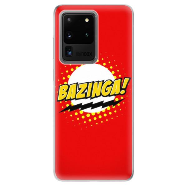 Odolné silikonové pouzdro iSaprio - Bazinga 01 - Samsung Galaxy S20 Ultra