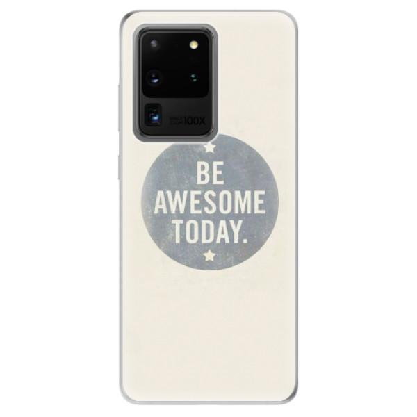 Odolné silikonové pouzdro iSaprio - Awesome 02 - Samsung Galaxy S20 Ultra