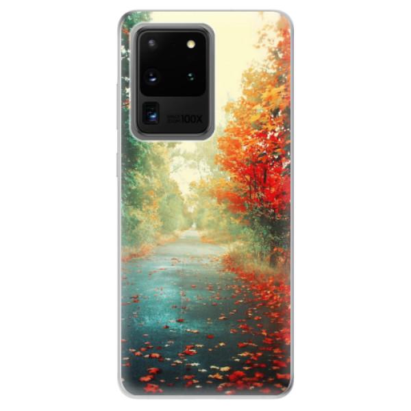 Odolné silikonové pouzdro iSaprio - Autumn 03 - Samsung Galaxy S20 Ultra