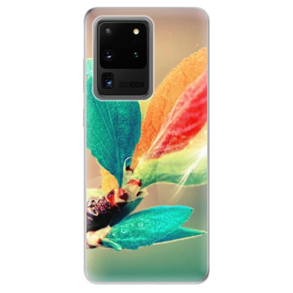 Odolné silikonové pouzdro iSaprio - Autumn 02 - Samsung Galaxy S20 Ultra