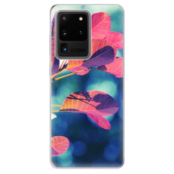 Odolné silikonové pouzdro iSaprio - Autumn 01 - Samsung Galaxy S20 Ultra