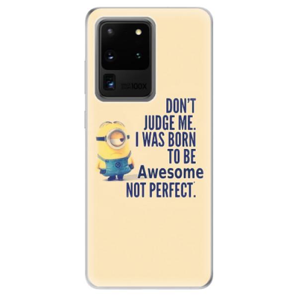 Odolné silikonové pouzdro iSaprio - Be Awesome - Samsung Galaxy S20 Ultra