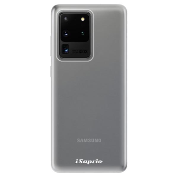 Odolné silikonové pouzdro iSaprio - 4Pure - mléčný bez potisku - Samsung Galaxy S20 Ultra