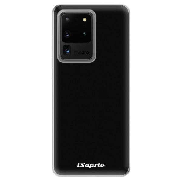 Odolné silikonové pouzdro iSaprio - 4Pure - černý - Samsung Galaxy S20 Ultra