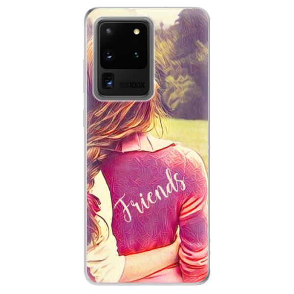 Odolné silikonové pouzdro iSaprio - BF Friends - Samsung Galaxy S20 Ultra