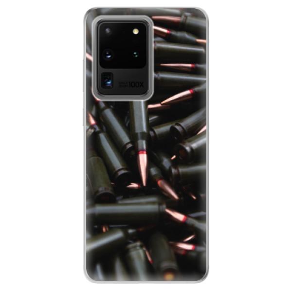 Odolné silikonové pouzdro iSaprio - Black Bullet - Samsung Galaxy S20 Ultra