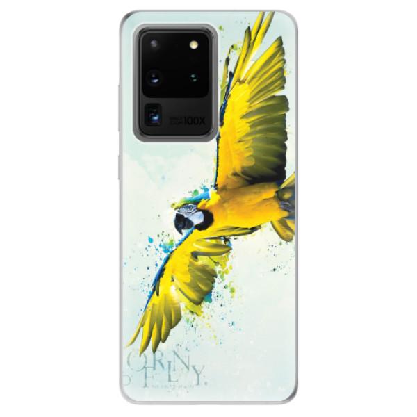 Odolné silikonové pouzdro iSaprio - Born to Fly - Samsung Galaxy S20 Ultra