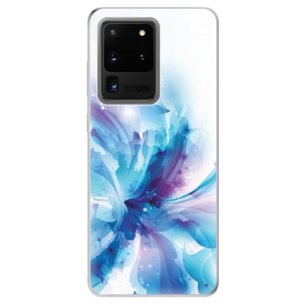 Odolné silikonové pouzdro iSaprio - Abstract Flower - Samsung Galaxy S20 Ultra