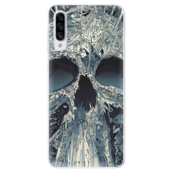 Odolné silikonové pouzdro iSaprio - Abstract Skull - Samsung Galaxy A30s