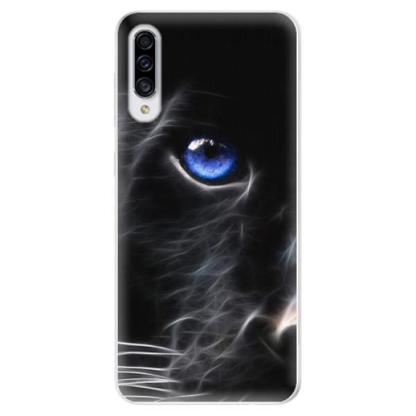 Odolné silikonové pouzdro iSaprio - Black Puma - Samsung Galaxy A30s