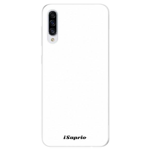 Odolné silikonové pouzdro iSaprio - 4Pure - bílý - Samsung Galaxy A30s