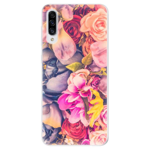 Odolné silikonové pouzdro iSaprio - Beauty Flowers - Samsung Galaxy A30s