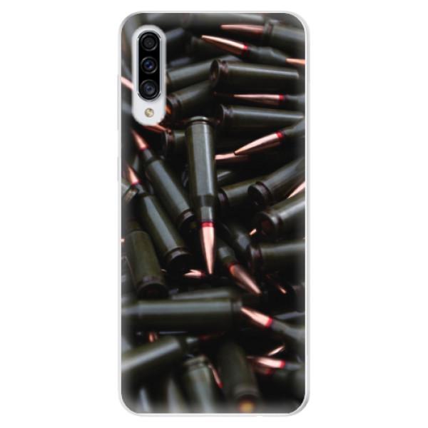 Odolné silikonové pouzdro iSaprio - Black Bullet - Samsung Galaxy A30s