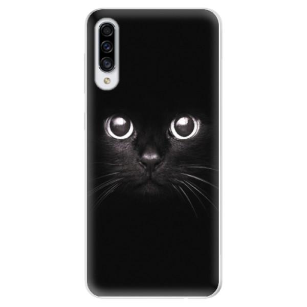 Odolné silikonové pouzdro iSaprio - Black Cat - Samsung Galaxy A30s