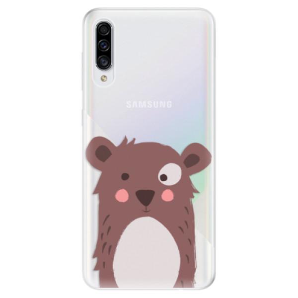 Odolné silikonové pouzdro iSaprio - Brown Bear - Samsung Galaxy A30s