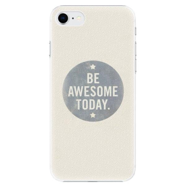 Plastové pouzdro iSaprio - Awesome 02 - iPhone SE 2020