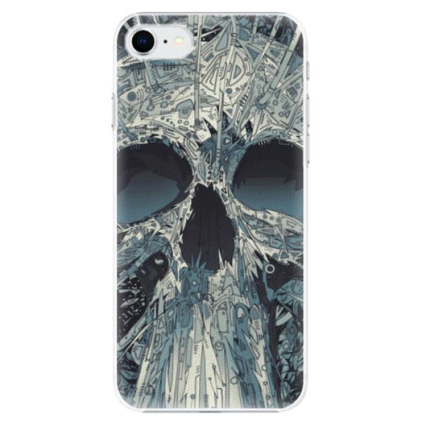 Plastové pouzdro iSaprio - Abstract Skull - iPhone SE 2020
