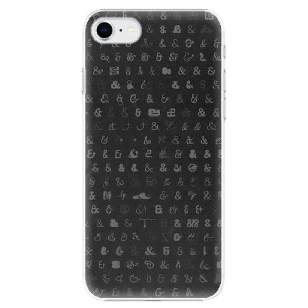 Plastové pouzdro iSaprio - Ampersand 01 - iPhone SE 2020