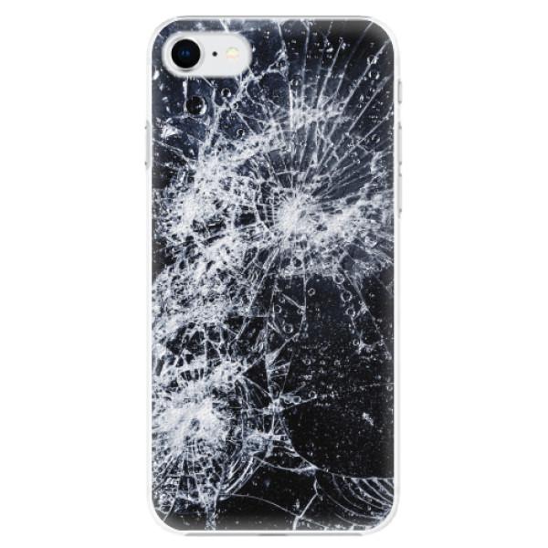 Plastové pouzdro iSaprio - Cracked - iPhone SE 2020