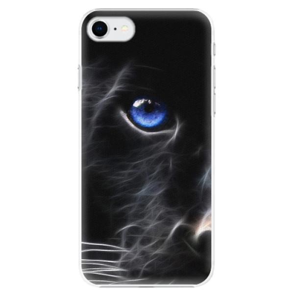 Plastové pouzdro iSaprio - Black Puma - iPhone SE 2020