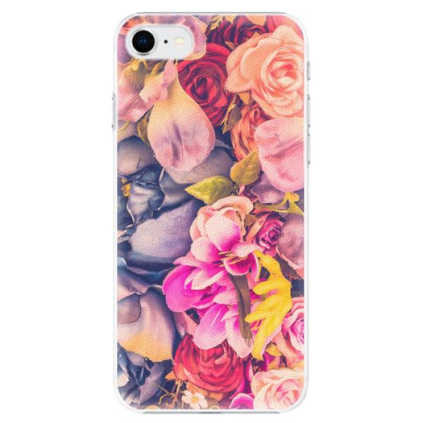 Plastové pouzdro iSaprio - Beauty Flowers - iPhone SE 2020