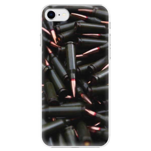 Plastové pouzdro iSaprio - Black Bullet - iPhone SE 2020