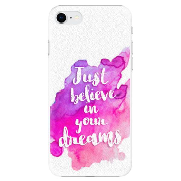 Plastové pouzdro iSaprio - Believe - iPhone SE 2020