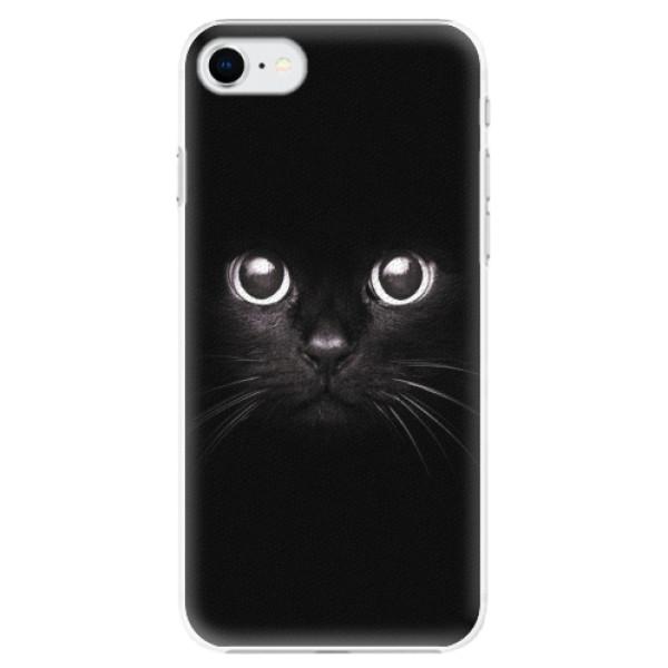 Plastové pouzdro iSaprio - Black Cat - iPhone SE 2020