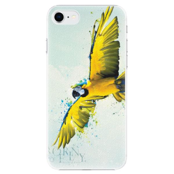 Plastové pouzdro iSaprio - Born to Fly - iPhone SE 2020