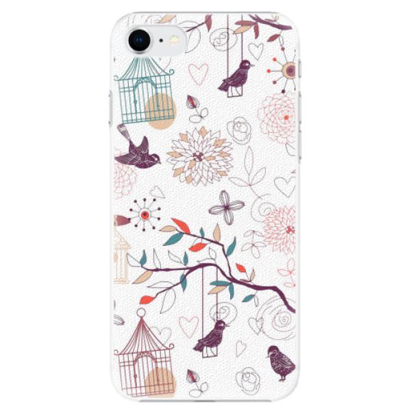 Plastové pouzdro iSaprio - Birds - iPhone SE 2020