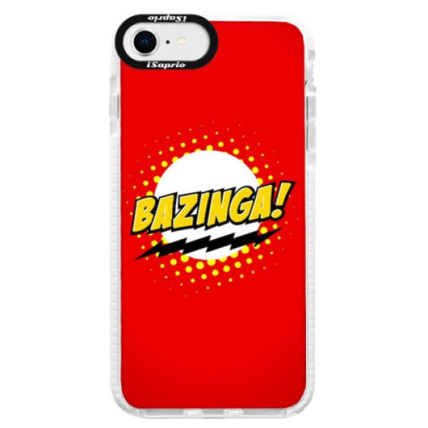 Silikonové pouzdro Bumper iSaprio - Bazinga 01 - iPhone SE 2020