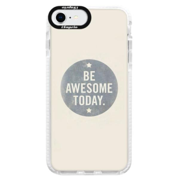Silikonové pouzdro Bumper iSaprio - Awesome 02 - iPhone SE 2020