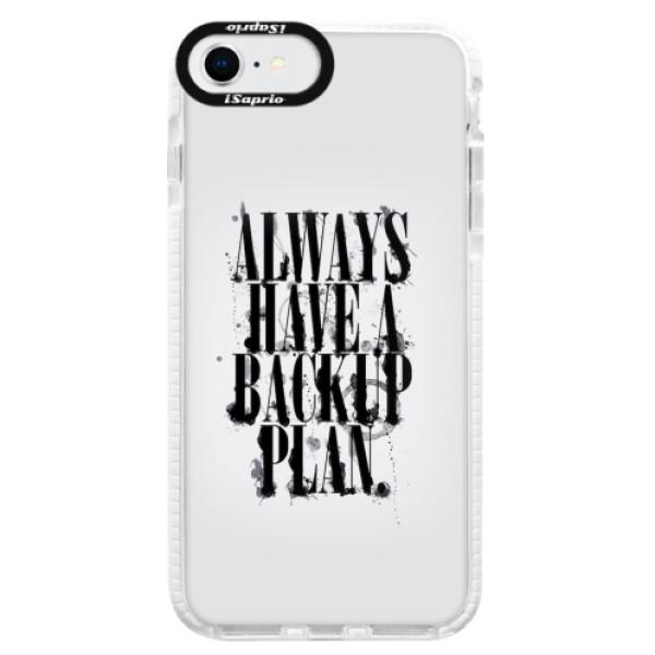 Silikonové pouzdro Bumper iSaprio - Backup Plan - iPhone SE 2020