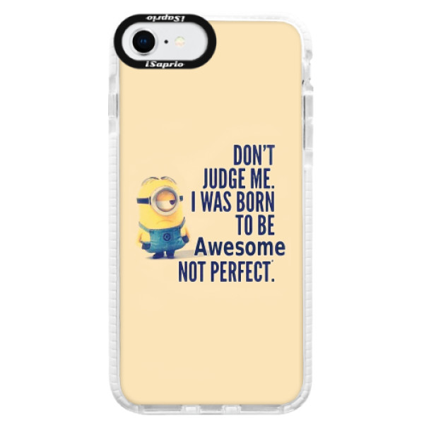 Silikonové pouzdro Bumper iSaprio - Be Awesome - iPhone SE 2020