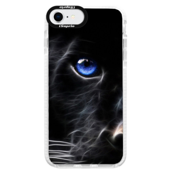 Silikonové pouzdro Bumper iSaprio - Black Puma - iPhone SE 2020