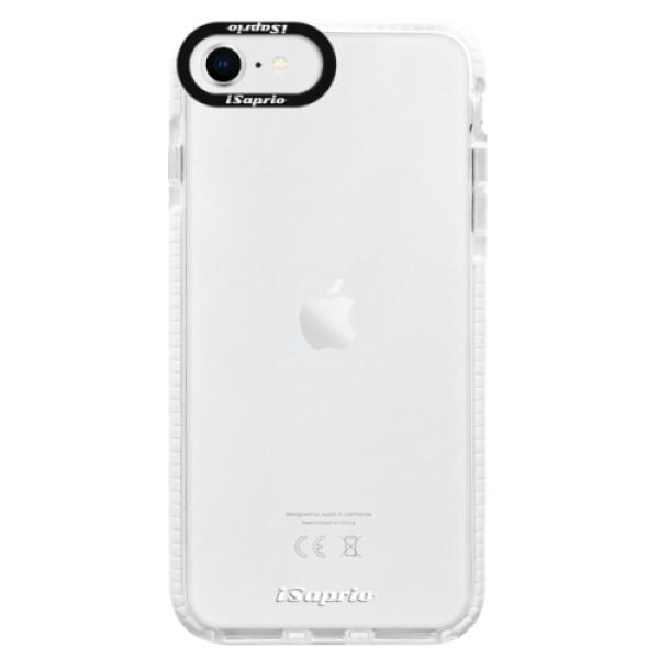 Silikonové pouzdro Bumper iSaprio - 4Pure - mléčný bez potisku - iPhone SE 2020