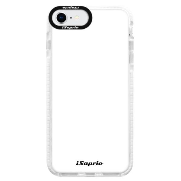 Silikonové pouzdro Bumper iSaprio - 4Pure - bílý - iPhone SE 2020