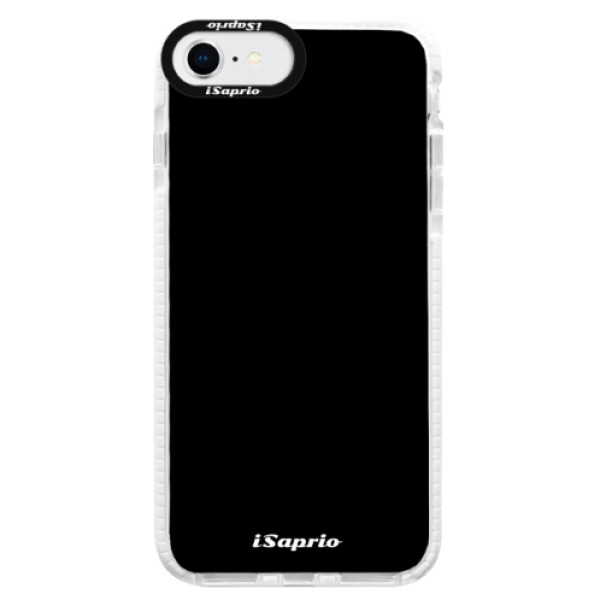 Silikonové pouzdro Bumper iSaprio - 4Pure - černý - iPhone SE 2020