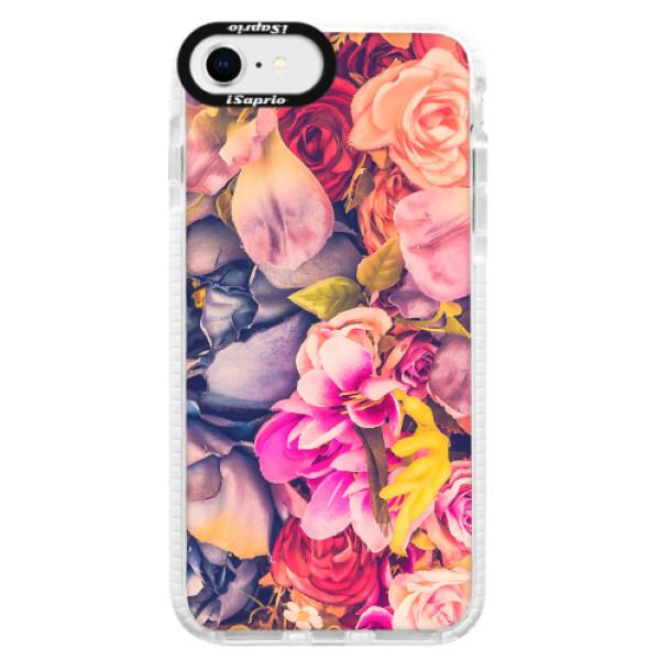 Silikonové pouzdro Bumper iSaprio - Beauty Flowers - iPhone SE 2020
