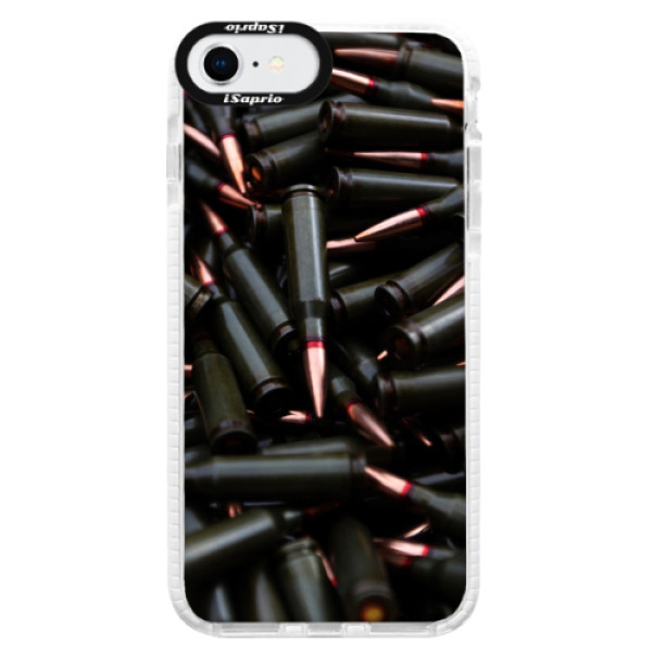 Silikonové pouzdro Bumper iSaprio - Black Bullet - iPhone SE 2020