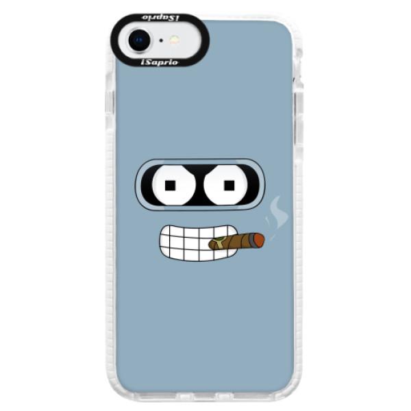 Silikonové pouzdro Bumper iSaprio - Bender - iPhone SE 2020
