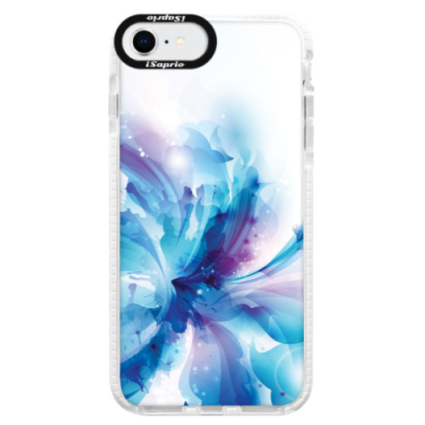 Silikonové pouzdro Bumper iSaprio - Abstract Flower - iPhone SE 2020