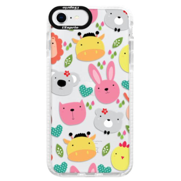 Silikonové pouzdro Bumper iSaprio - Animals 01 - iPhone SE 2020