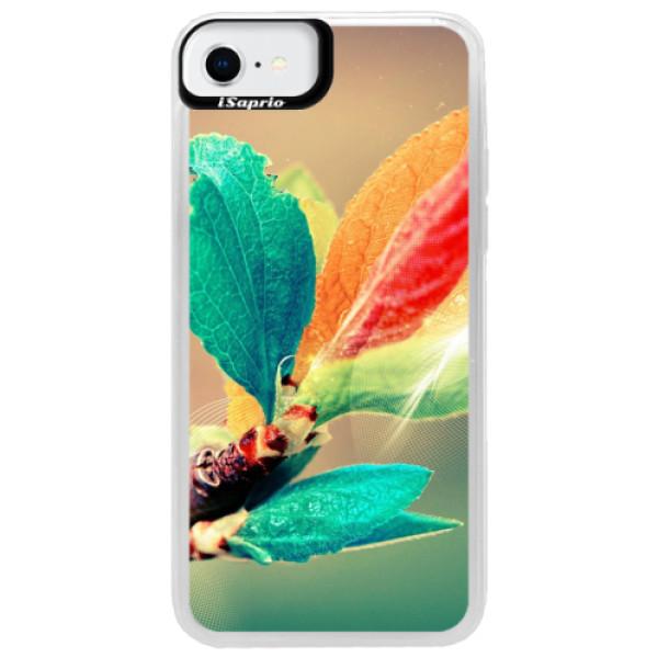 Neonové pouzdro Blue iSaprio - Autumn 02 - iPhone SE 2020