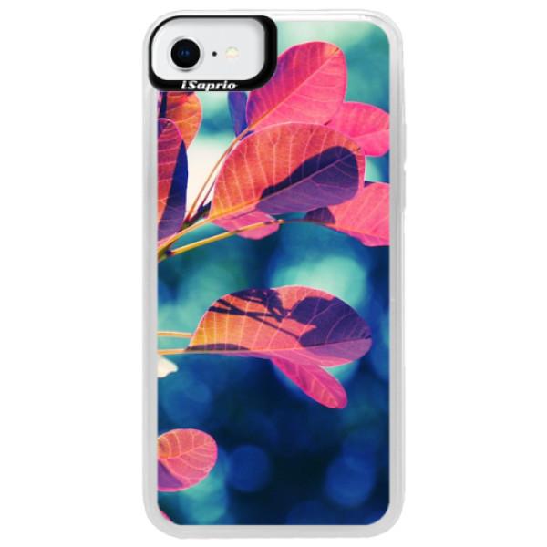 Neonové pouzdro Blue iSaprio - Autumn 01 - iPhone SE 2020