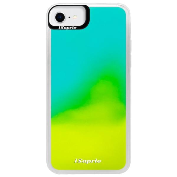 Neonové pouzdro Blue iSaprio - 4Pure - mléčný bez potisku - iPhone SE 2020